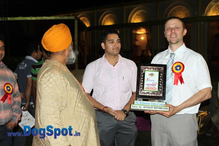 sw-36, delhi,judges,rottweiler,rottweiler speciality show,, Rottweiler Speciality 2011 April, DogSpot.in