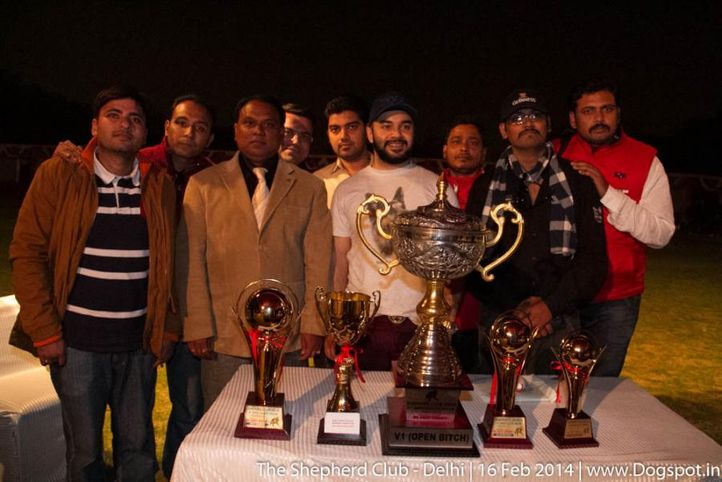 sw-117,prize distribution,, The Shepherd Club- Delhi, DogSpot.in