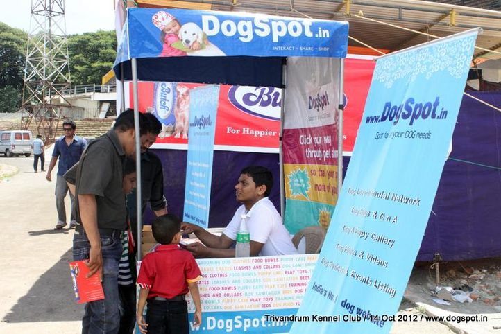 ground stalls,sw-59,, Trivandrum Dog Show 14th Oct 2012, DogSpot.in